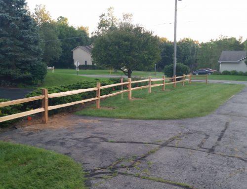 Wood Rail Fence