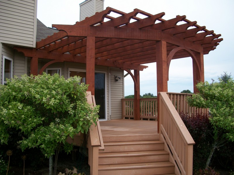 Beam Cover Over Deck