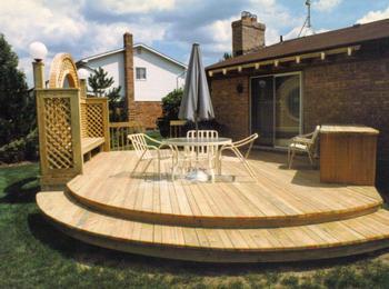 Round Deck